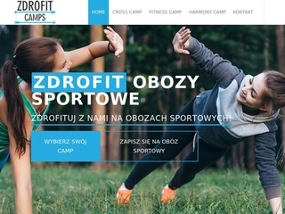 Zdrofit.camp - obozy fitness, cross, joga