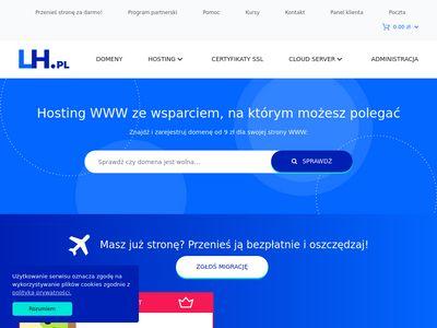 LH.pl - wydajny hosting dla każdego