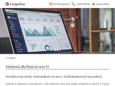 Langolian.pl - szkolenie SQL