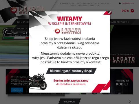 Legato-motocykle.pl sklep