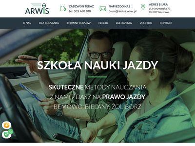 Arwis - nauka jazdy Warszawa