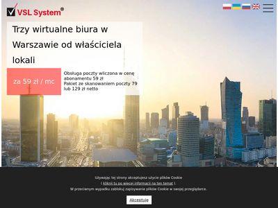 VSL-System wirtualne biuro Jerozolimskie
