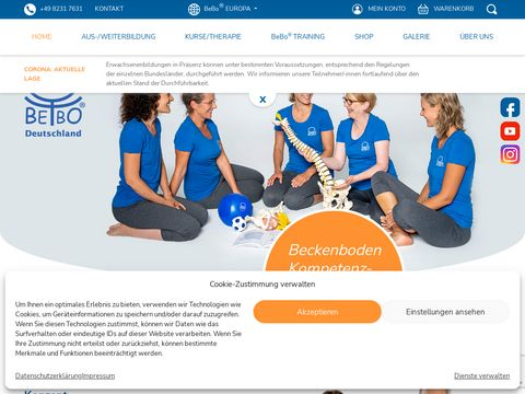 Bebo - trening dna miednicy