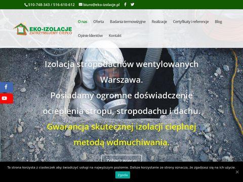 Eko-Izolacje skuteczne ocieplanie