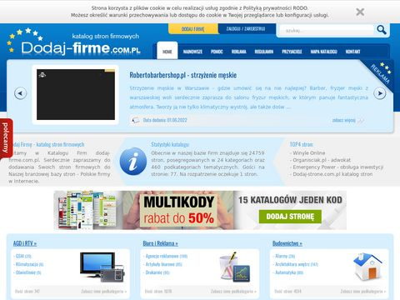 Dodaj-firme.com.pl katalog firmowy