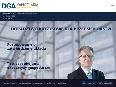 DGA Kancelaria restrukturyzacja firmy