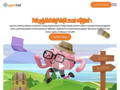 Gigancitravel.pl - obozy wakacyjne dla młodzieży