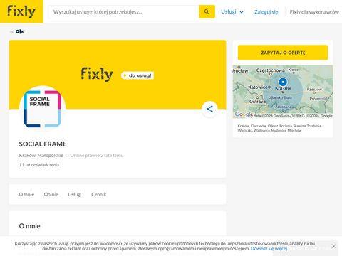 Socialframe.pl - reklama na facebooku