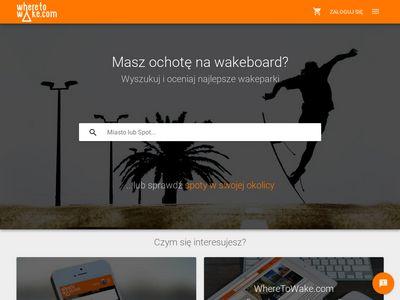 Wheretowake.com - gdzie na wakeboard