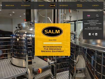 Salm-austria.com minibrowar - produkcja piwa