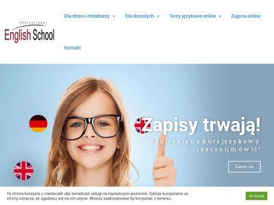 Professional English School - półkolonie letnie