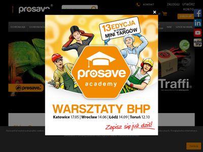 Prosave.pl sklep internetowy z odzieżą roboczą