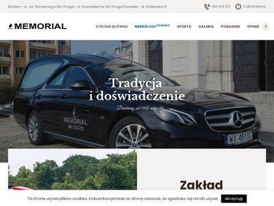 Memorial - Praga usługi pogrzebowe