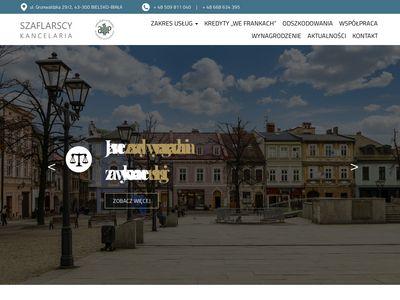 Kancelariaszaflarscy.pl pomoc prawna frankowiczom