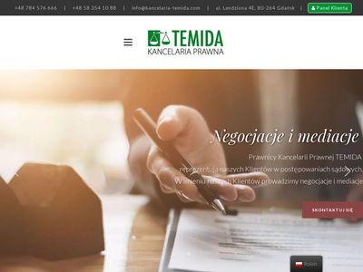 Kancelaria-temida.com - prawnik Gdańsk
