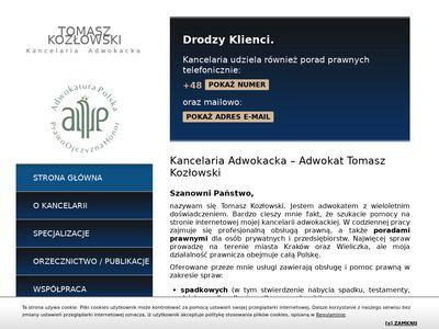 Kozlowski-adwokat.pl kancelaria adwokacka