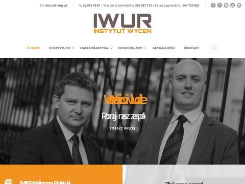 Iwur.pl - wycena firmy, przedsiębiorstwa, spółki