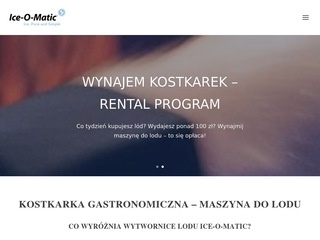 Iceomatic.pl - kostkarki do lodu