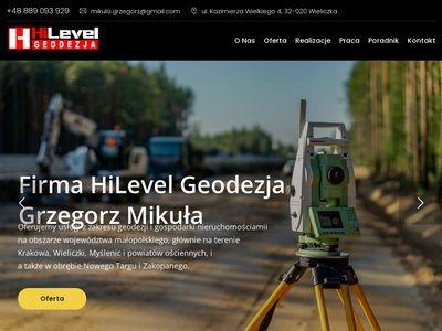 Hilevelgeodezja.pl - podział działki Kraków