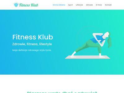 Fitnessklub.com.pl - blog