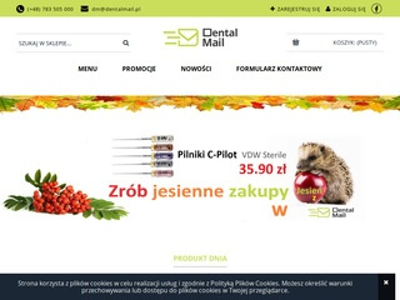 Dentalmail.pl - produkty dla stomatologów