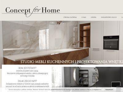Conceptforhome.pl - meble kuchenne na wymiar