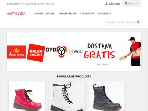 Antylopa buty - najlepszy sklep obuwniczy