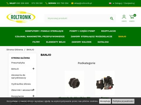 Banjo-polska.pl katalog