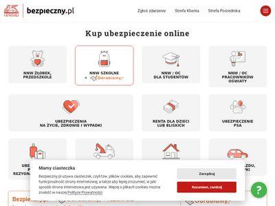Bezpieczny.pl ubezpieczenia i polisy na życie