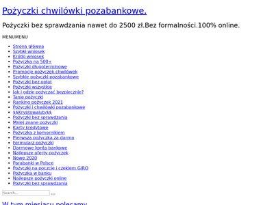 Blog.pozyczkabez.pl - porównywarka