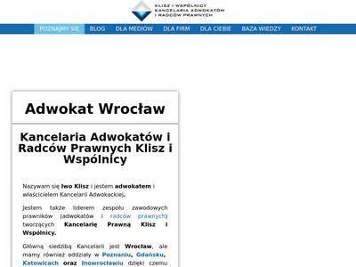 Adwokat-wroclaw.biz.pl - obsługa prawna firm