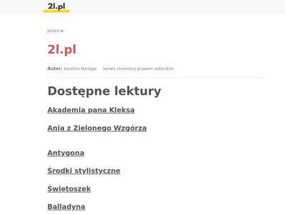2l.pl - opracowania lektur