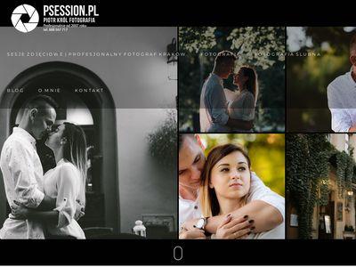 Psession.pl - profesjonalny fotograf Kraków