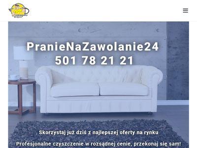 Pranienazawolanie24.pl - czyszczenie tapicerek
