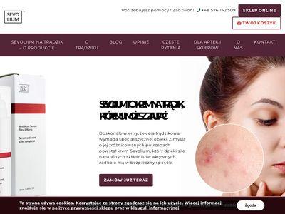 Poznajsevolium.pl na przebrawienia po wypryskach