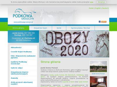 Podkowagruszczyn.pl nauka jazdy konnej
