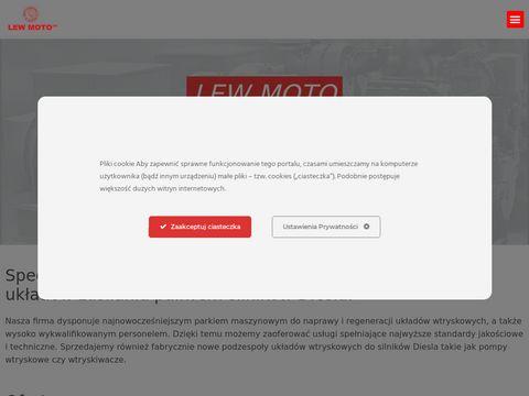 Lew Moto - regeneracja pomp wtryskowych