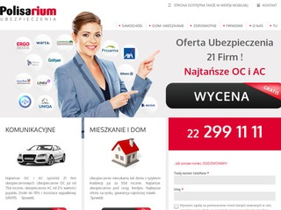 Ubezpieczenie OC Warszawa