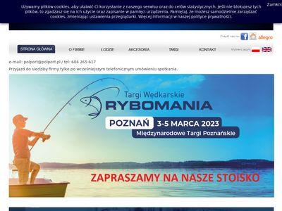 Polport.pl producent łodzi wędkarskich