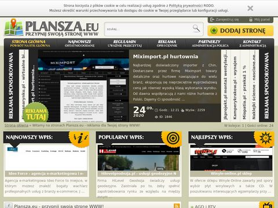 Plansza.eu - spis portali