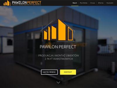 Pawilon-perfect.pl garaż z płyt
