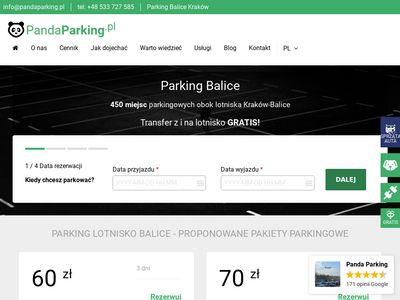 Panda Parking - Balice