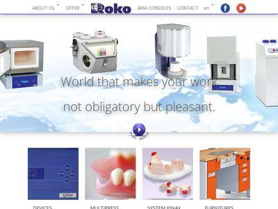 Rokodent.com - produkty dentystyczne