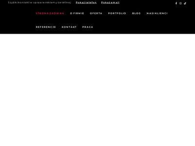 Reklama-efekt.pl świetlna