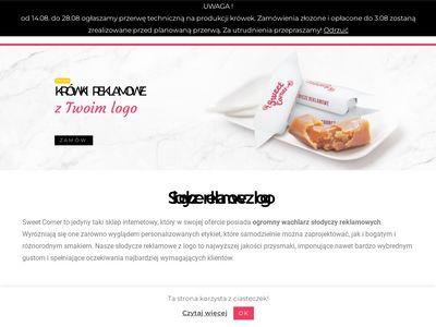 Sweet Corner - lizaki reklamowe