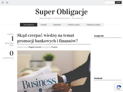Superobligacje.pl najciekawsze zalety obligacji