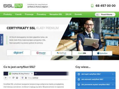 Ssl24.pl - certyfikat digicert