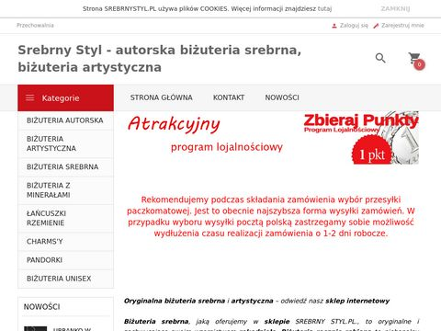 Srebrnystyl.pl - biżuteria srebrna sklep