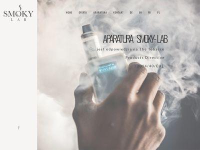 Smoky-lab.pl badania e-liquidów