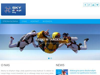 Skydiveblog.pl skoki tandemowe